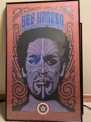 Framed Ben Harper posters for Sale in Seattle, WA