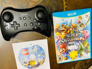Nintendo Wii U Games and Pro Controller for Sale in Miami, FL