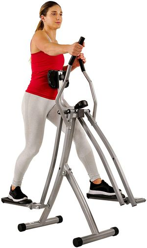 Air Walk Trainer Elliptical Machine Glider w/LCD Monitor for Sale in Beaumont, CA