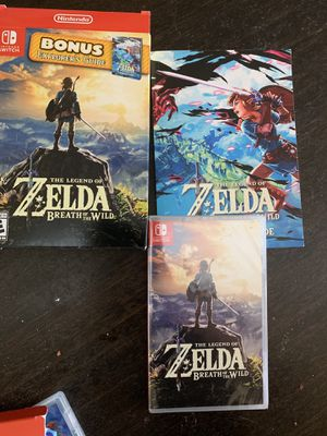 Zelda Breath of the Wild, Nintendo Switch for Sale in St. Louis, MO