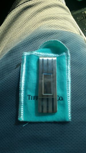 Tiffany & co sterling silver money clip for Sale in Nashville, TN