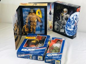"""Vintage GI Joe 12"""" Collectible Action Figures Hall of Fame, Tuskegee & Astronaut for Sale in Westminster, CA"""