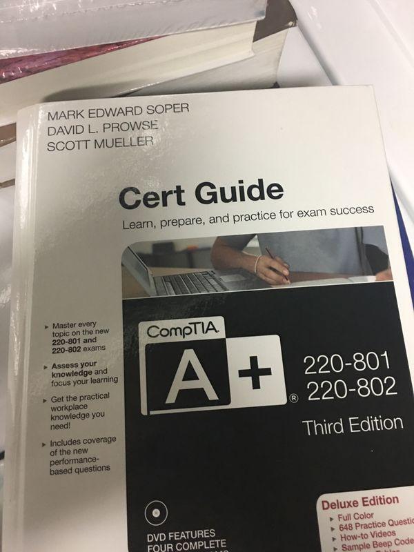 Cert Guide college textbook