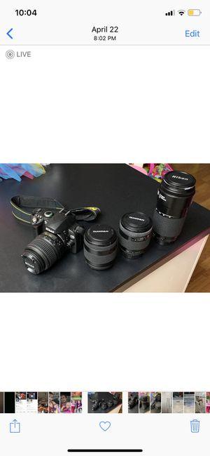 Nikon d40x camera (bundle) for Sale in Cameron Park, CA