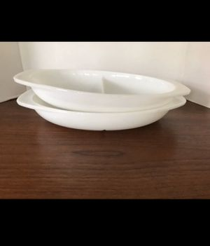 Pyrex opal divided dishes for Sale in Grand Terrace, CA