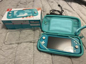 Nintendo Switch Lite Turquoise for Sale in Steilacoom, WA
