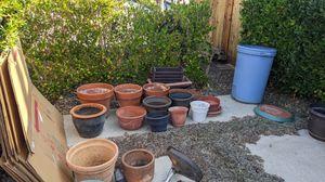 Ceramic pots & planters for Sale in Mission Viejo, CA