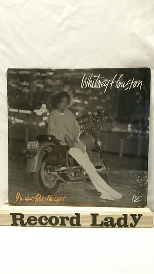 """Whitney Houston """"I'm Your Baby Tonight"""" vinyl record pop/ R&B for Sale in San Diego, CA"""
