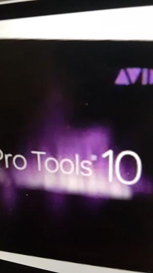 Avid Protools 10 full for Sale in San Jose, CA