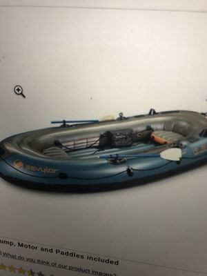 Inflatable 6 people boat for Sale in Hillsboro, OR