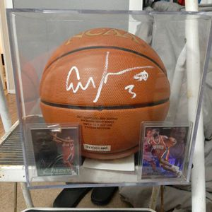 Allen Iverson Autographed Basketball for Sale in PA, US