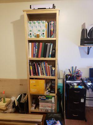 TWO Pine Bookshelves for Sale in Monroe Township, NJ