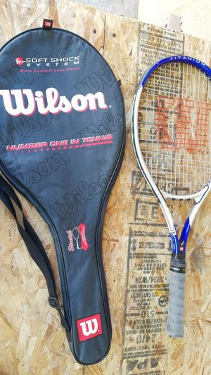 Wilson impact tennis racket for Sale in West Covina, CA