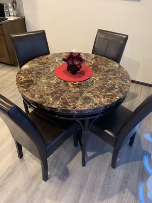 Kitchen table and four chairs for Sale in Brier, WA