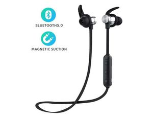 Bluetooth Headphones, ownta Bluetooth 5.0 Wireless Headphones,TF Card Playback,Magnetic Bluetooth Earbuds, Snug Fit for Running with Mic for Sale in Rancho Cucamonga, CA
