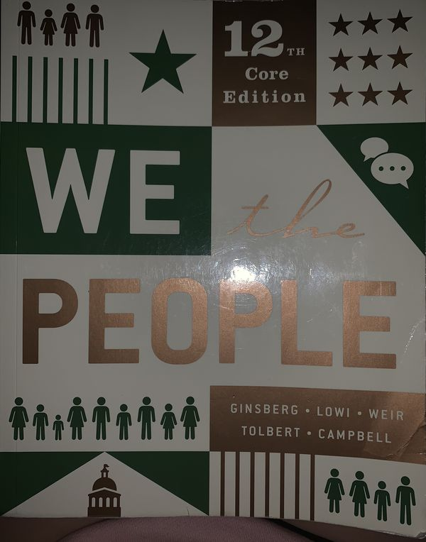 12th core edition We the People book