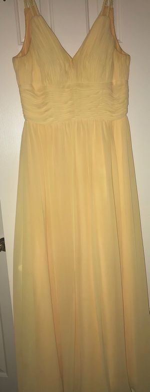 Bari Jay Yellow Gown/Dress for Sale in West McLean, VA