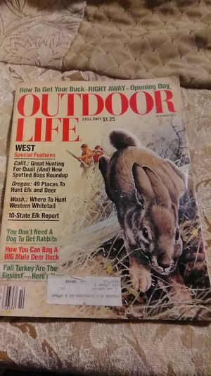 Vintage Outdoor Life Magazine for Sale in Everett, WA