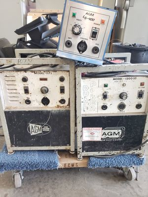 LOT 3 AGM WELDER EQUIPMENT MODEL 1200SS, 1175, LS-400 for Sale in Federal Way, WA