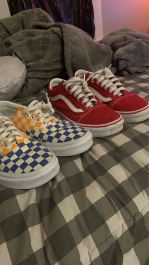 Unisex vans for Sale in Lowell, MA