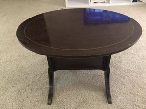 Vintage Coffee Table - High Quality Wood and Detailing for Sale in Rockville, MD