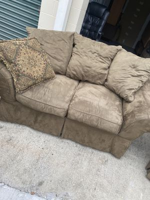 REF #19: Loveseat/Couch for Sale in Southwest Raleigh, NC