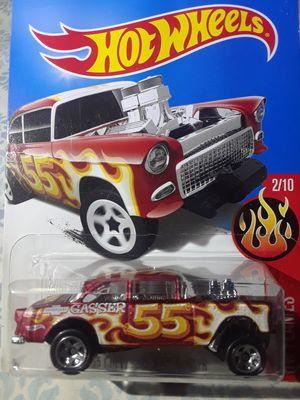 2015 hot wheels '55 chevy bel air gasser. for Sale in El Paso, TX