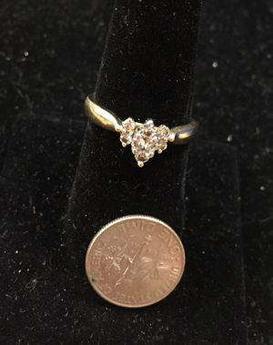 Stunning Diamond 14K Ring Sz 8 for Sale in Baltimore, MD