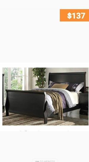 BRAND NEW TWIN BED AVAILABLE IN FULL ADD CHEST NIGHTSTAND AND ADD MATTRESS for Sale in Riverside, CA