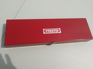 VINTAGE PROTO PORTABLE TOOL BOX for Sale in Whittier, CA