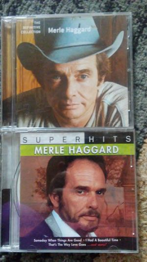 Merle Haggard cds for Sale in Dixon, MO