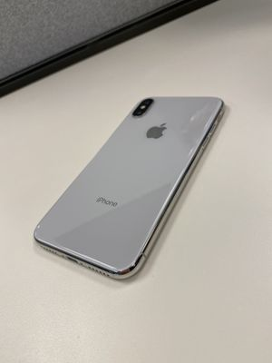 iPhone X 256gb silver for Verizon for Sale in West Valley City, UT
