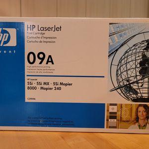 09A,HP Laserjet, Print Cartridge, hp Laserjet 09a for Sale in Waltham, MA
