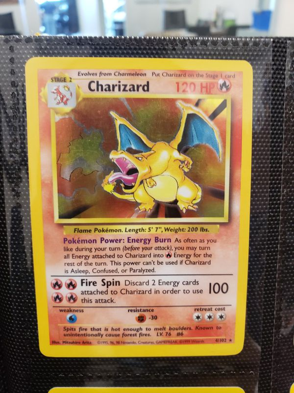 Pokemon Charizard 04/102 or collection