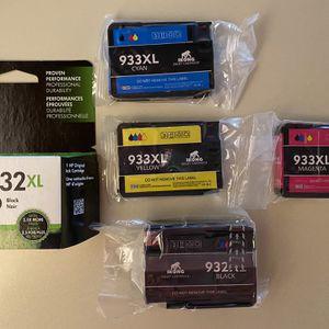 HP Cartridges as Shown 932XL & 933XL for Sale in Reston, VA