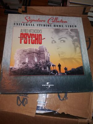 Psycho Laserdisc PRICE LOWERED for Sale in Fond du Lac, WI