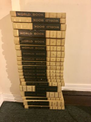 Vintage 1961 World Encyclopedia Full Set + Reading / Study Guide for Sale in Nashville, TN