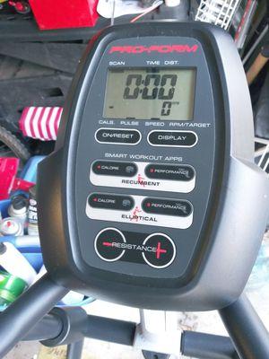 Proform elliptical exercise bike combo for Sale in Chesapeake, VA