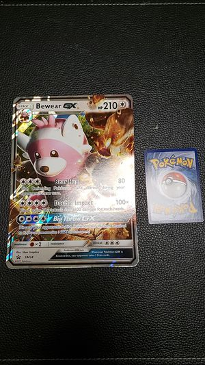 Pokémon oversized holographic card for Sale in Durham, NC