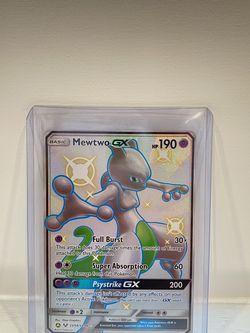 Shiny Mewtwo GX Hidden Fates Shiny Vault SV59/SV94 Holo Rare Pokémon Card for Sale in Hollywood,  FL