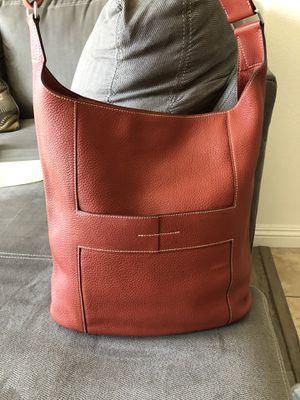 Hermes Shoulder bag Handbag purse orange Satchel for Sale in El Monte, CA