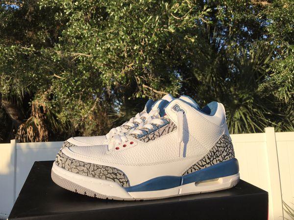 Jordan retro 3 true blue sz10