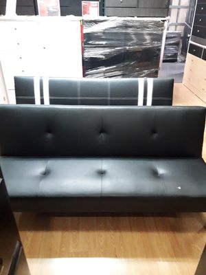 New leather futon for Sale in San Fernando, CA