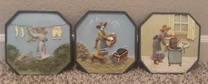Laundry room wall decorations for Sale in Watauga, TX