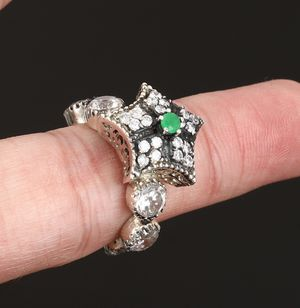 SOLID STERLING SILVER RING .925 stamp for Sale in Highland Hills, OH