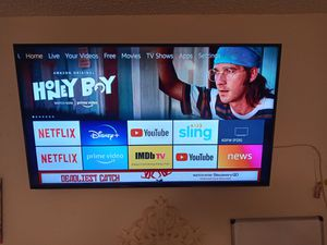 "50"" INSIGNIA TV WITH MOUNT for Sale in DeSoto, TX"