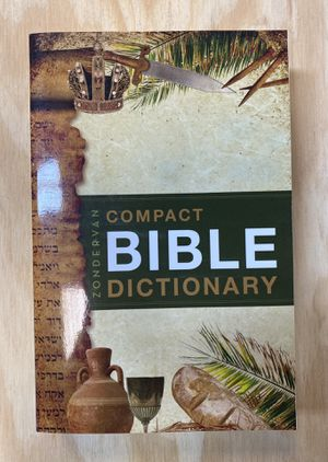 Brand New Zondervan Compact Bible Dictionary for Sale in Las Vegas, NV