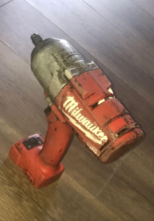 Milwaukee Fuel 1/2 impact wrench