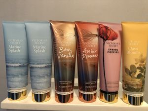 $55 6 bottle of Victoria secret body lotions assorted scents brand new and pick up Gahanna for Sale in Gahanna, OH