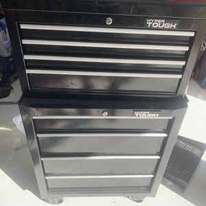 Hyper Tough 4 Drawer Chest And Cabinet Combo for Sale in Poinciana, FL